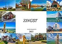 Zingst Stadtansichten (Wandkalender 2022 DIN A3 quer): Zwoelf Bilder der bezaubernden Stadt Zingst (Monatskalender, 14 Seiten )