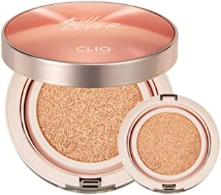 クリオキルカバー 輝きクッションファンデーション+リピルセット 韓国コスメ、Clio Kill Cover Glow Cushion Foundation+ Refill Set Korean Cosmetic [並行輸入品] (no3 linen)