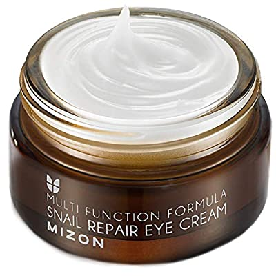 [Mizon] Snail Repair Eye Cream (100g) Dark Circles, Puffy Eyes, Wrinkles and Crows Feet Treatment, Anti-Ageing, Skin Regeneration and Moisturizer, Snail Secretion Filtrate, Korean Skin Care