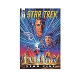 LAMTOR Póster Del Star Trek.1 Filmposter, Leinwandkunst,