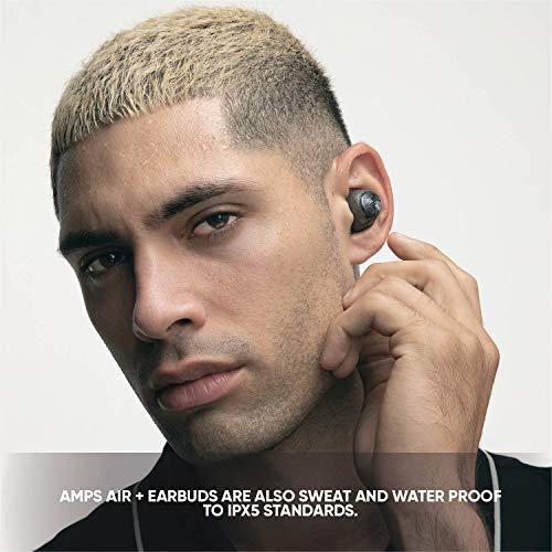 SOLREPUBLICノイズキャンセリング完全ワイヤレスイヤホンAMPSAIR+2020年発売/高音質/Bluetooth対応/防滴ブラック【国内正規品】