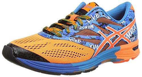 ASICS Gel-Noosa Tri 10 - Zapatillas de Running para Hombre, Color Naranja (Hot Orange/Hot Orange/Electric 3030), Talla 46