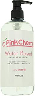 PinkCherry Water Based Personal Lubricant in 16oz/473ml Unscented