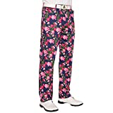Royal & Awesome Bloomers Floral Mens Golf Pants -32W/32L