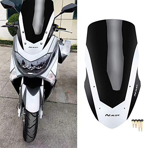 Leifeng Tower Nivel Profesional, Parabrisas de Motocicleta Deflector, Pantalla Moto plástico Parabrisas Parabrisas Escudo del Viento del Viento for Yamaha NMAX155 NMAX 155 20162018 Proteccion