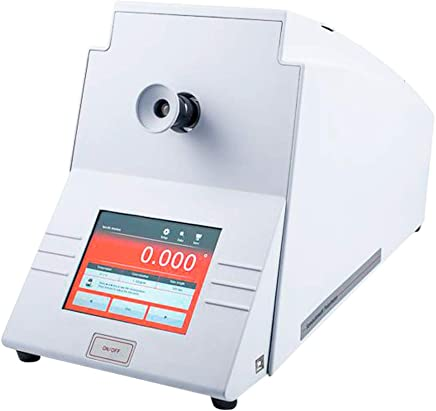 Tongbao POL-200 Multiparameter Semiautomatic Polarimeter with Optical Rotation Specific Rotation Concentration International Sugar Scale +/- 90 Degree 100mm 200mm Polarimeter Tube USB Communication