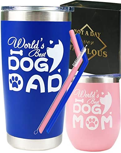 Dog Mom Gifts for Women Dog Dad Gifts for Men Dog Mom Dog Dad Mug Dog Mom and Dad Cup Dog Mom product image