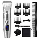 LUBANC Electric Hair Trimmer for Men Adjustable Professional Hair Clippers USB Rechargeable Haircut Machine Barber Clippers