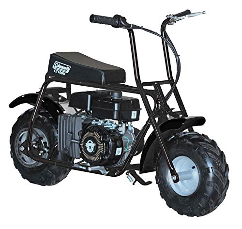 Coleman Powersports CT100U-B Gas Powered Trail Mini-Bike   98cc/3.0HP   Black