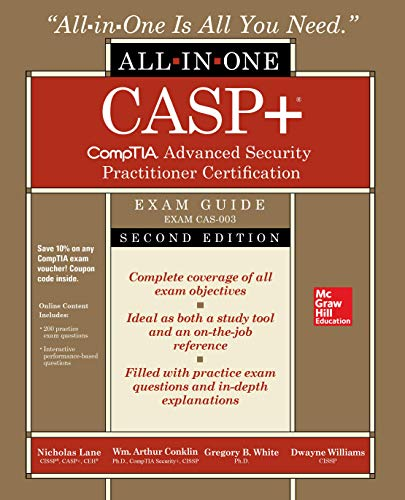 Casp+ Comptia Advanced Security Practitioner Certification All-In-One Exam Guide, Second Edition (Exam…