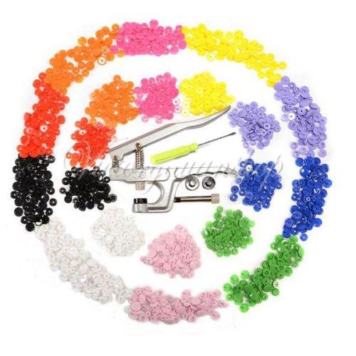 Generic NV _ 1001005139 _ Yc-uk2 Stud150 Résine/Plastique T5 T KAM Snap en/PL Attaches Clip Bouton rapide Pince + Lot de 150 T3 T5 T8 Clip à pression à tige KAM SNA