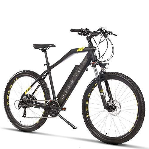 Bicicletas Eléctricas para Adultos, Bicicleta Eléctrica 27.5 Pulgadas 48V con Motor Eléctrico 400W Batería De Litio 13Ah, Bicicleta De Ciudad Velocidad Máxima 30km / H