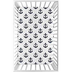 51cCy8Gj1fL._SS300_ Nautical Crib Bedding & Beach Crib Bedding Sets