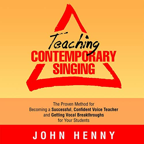 Teaching Contemporary Singing  By  cover art