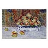 Rompecabezas Renoir Bodegón con melocotones para adultos, 1000 piezas para niños, juguetes de regalo para niños y niñas, 50,8 x 76,2 cm