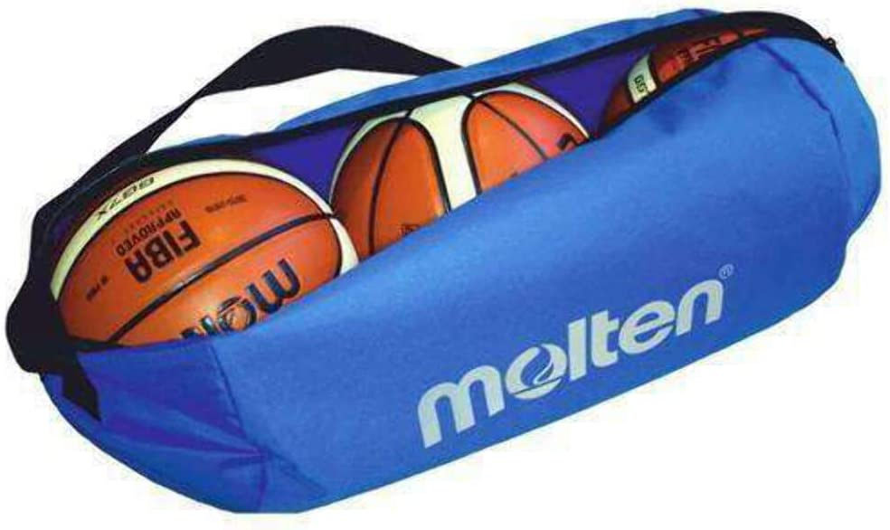 Molten Unisex's EB0043-B Bag Inexpensive for Ranking TOP1 3 Balls Blue x Basketball 780