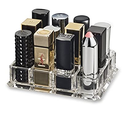 byAlegory Acrylic Lipstick Makeup Organizer Storage Beauty Makeup Container