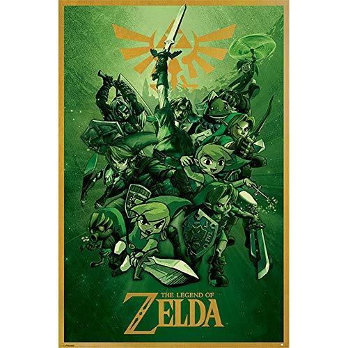 Preisvergleich Produktbild Pyramid The Legend of Zelda Poster Link