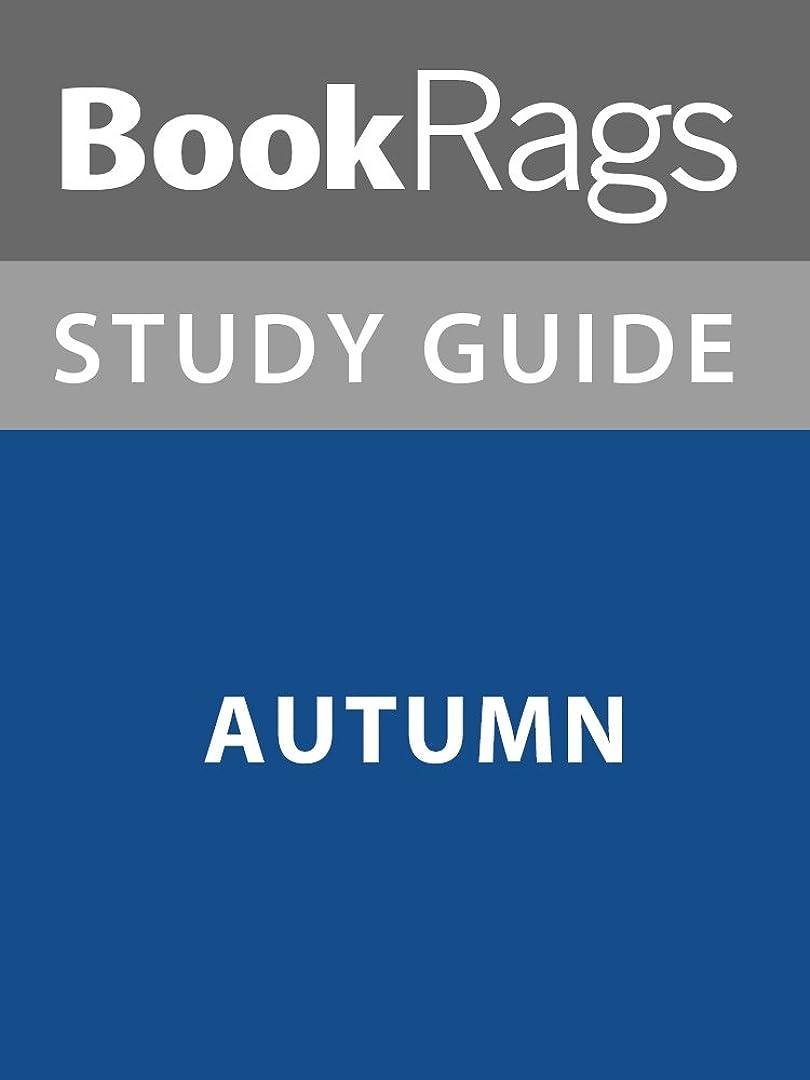スカープ食器棚水分Summary & Study Guide: Autumn (English Edition)