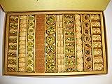 Dorimed - Baklava Mix, Original Arabische Süßwaren, mit Pistazien und Cashwenüssen, 88 Stück, Premium Qualität, 1 kg