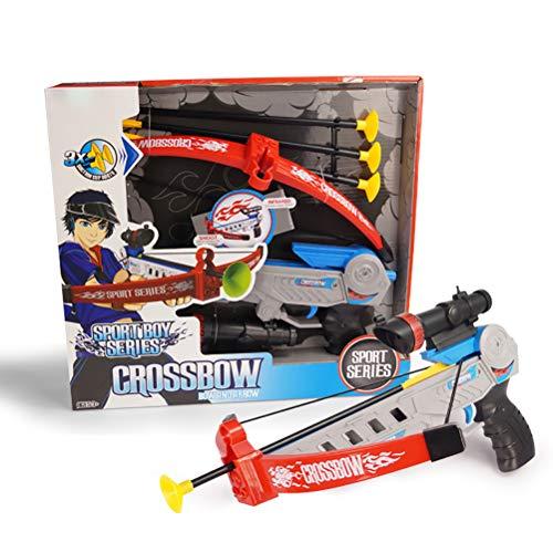 YRE Kinder Simulation Infrarotbogen und Pfeil Militärmodell Spielzeug, Outdoor-Leichtathletik-Shooting Soft Kugel Armbrusten-Spielzeug, Junge Mädchen Schießset,Boy