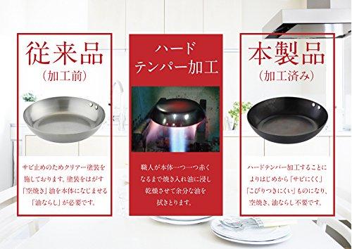 藤田金属鉄中華鍋片手30cm日本製スイトこだわり職人040097