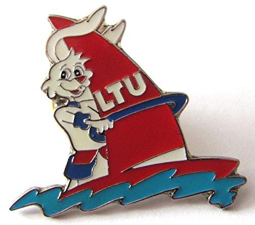LTU - Hase auf Surfbrett - Pin 30 x 26 mm