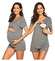 pregnancy style: summer pregnancy and nursing pajamas