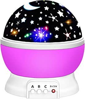 f1cc81f426 LET'S GO! Starry Night Light Projector 360 Degree Rotation- Best Gifts
