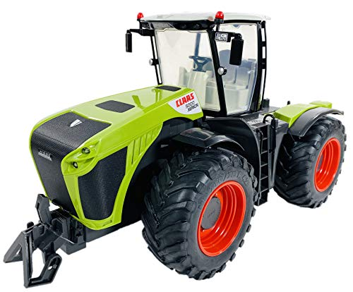 BUSDUGA RC Ferngesteuerter Traktor CLAAS 5000 XERION 1:16 schwenkbare Kabine, Doppellenkung 2,4Ghz RTR inkl....