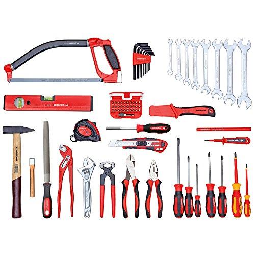 GEDORE red Universalsatz BASIS im Werkzeugkoffer, 72-teilig