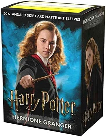 Dragon Shield Matte Art Harry Potter Series Hermione Granger Standard Size 100 ct Card Sleeves Individual Pack