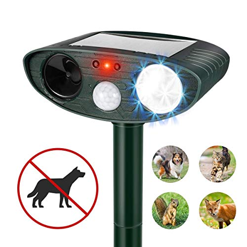 Clever sprouts Dog Cat Repellent, Ultrasonic Animal Repellent with Motion Sensor...