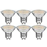 EACLL GU10 LED 6W 2700K Warmweiss Leuchtmittel 735 Lumen Birnen kann Ersetzen 60W Halogen. AC 230V...