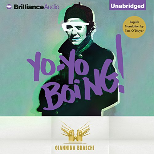 Yo-Yo Boing! audiobook cover art