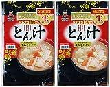 神州一味噌 とん汁 生みそタイプ 20食×2セット