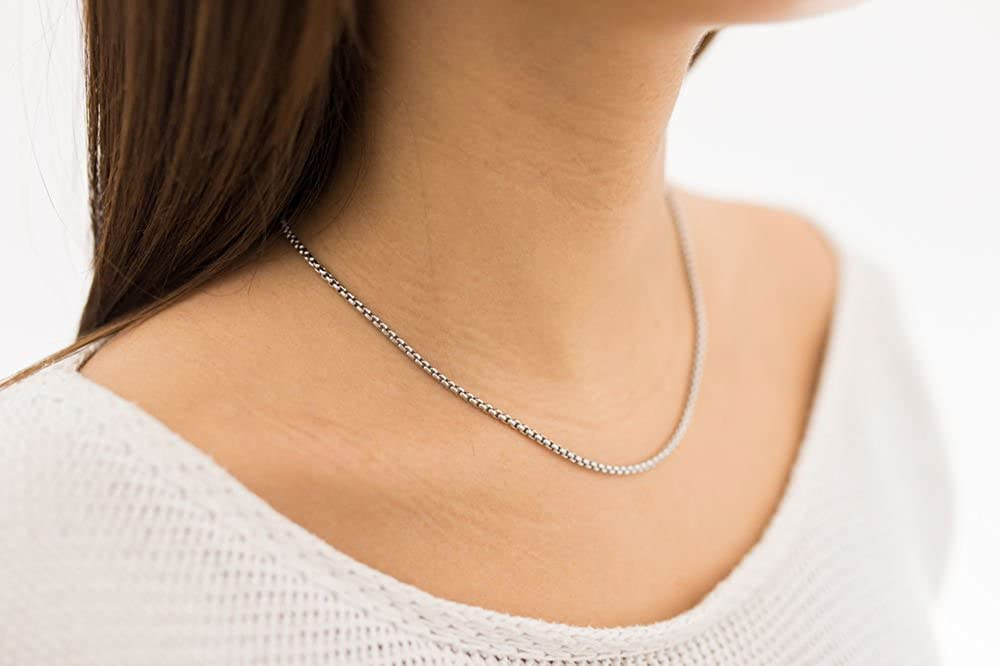 Details about  /925 Sterling Silver 1.5mm /& 1.7mm  Popcorn Necklaces Italy 16 18 20 22 24 In