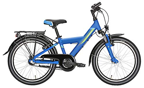 Pegasus Avanti 3/20 Zoll, 3 Gang Nabenschaltung, Kinderfahrrad, Y-Rahmen, Modell 2020, 20 Zoll, Dark Blue matt, 28 cm