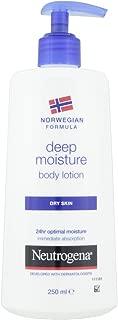 Neutrogena Norwegian Formula Deep Moisture Body Lotion for Dry Skin 250Ml