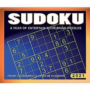 Calendar Ink Sudoku Desk Calendar 2021