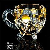 LDD Whisky Glass Trace Gold Forma Unica Forma Bird Nest Prismatic Chivas Vino Bicchieri Coppa