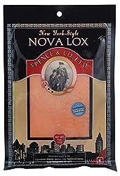 Spence & Co., New York-Style Nova Lox, 4 oz (Frozen)