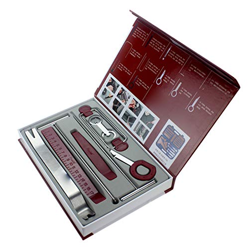 ZZWBOX Herramienta Automática De Eliminación De Recortes Kit De Herramientas De Extracción del Panel del Automóvil Herramientas De Clip De Extracción De Radio para Reparación De Interior De Coche