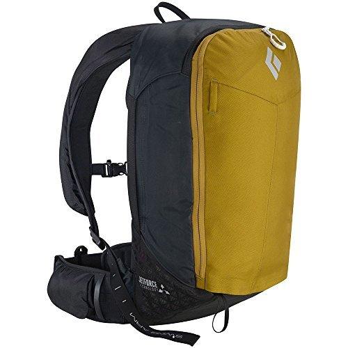 BLACK DIAMOND Pilot 11 Jetforce Avalanche Airbag Pack Curry Yellow M/L by Black Diamond
