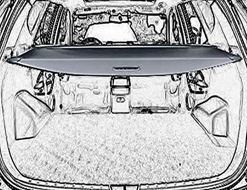 Cargo Cover Retractable For 15-18 Hyundai Santa Fe...