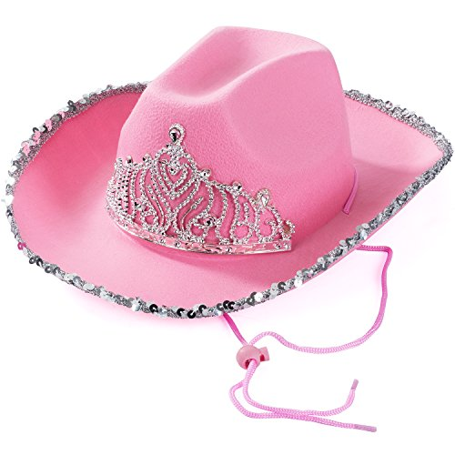 Funny Party Hats Cowgirl Hat - Prin…