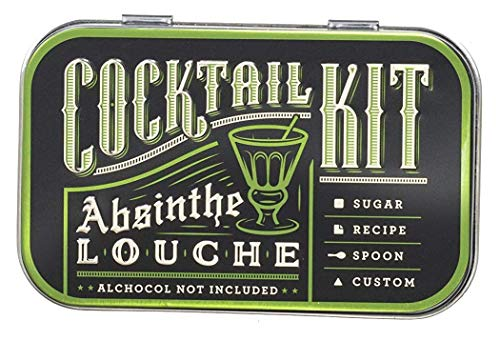 Cocktail Kits 2 Go, Absinthe Louche, Travel-Friendly Craft Bar Kit for Drinks on the Go - TSA Compliant