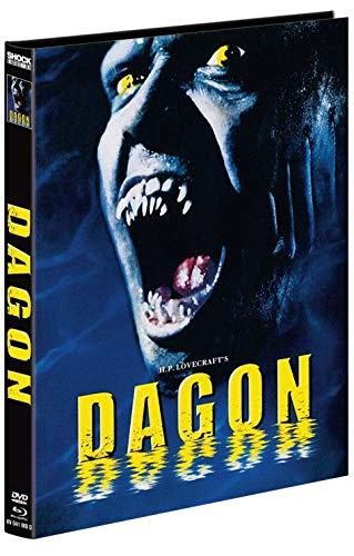 H.P. Lovecraft's Dagon - 2-Disc Mediabook - Cover D - Limitiert auf 222 Stuk  (+ DVD)