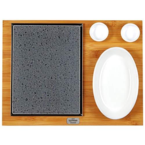 Lavastein American L, rechteckig, geeignet für das Kochen direkt auf dem Tisch