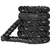 Fulinmen 3m Pesado Salto de Salto Salto de Cuerdas Cuerdas de Batalla Cuerdas de Entrenamiento de Potencia Fuerza de la Fuerza Músculo para el Entrenamiento Fitness (Color : 3mx25mm)